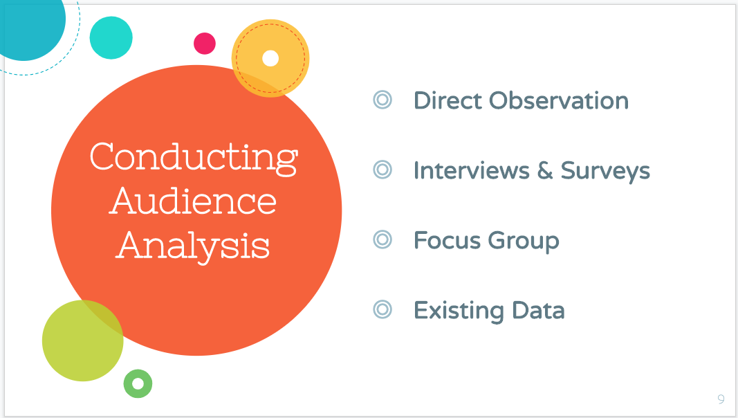 Audience Analysis PowerPoint Slide Sample