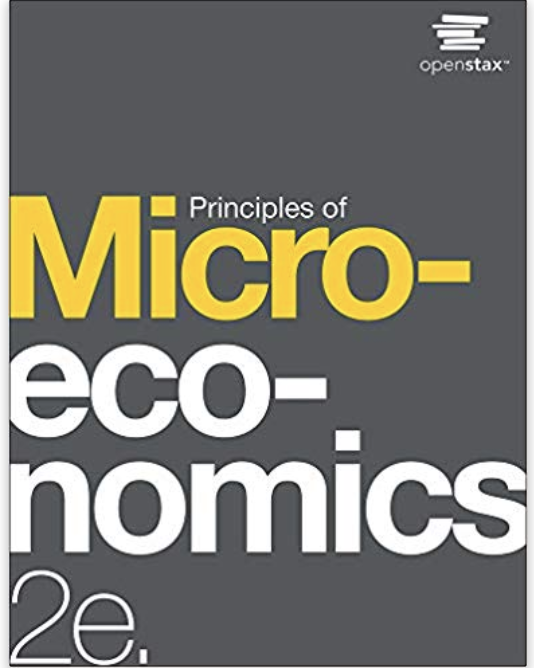 Microeconomics 2e OpenStax Book Cover