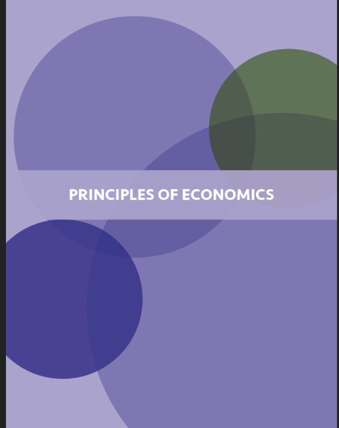 Principles of Economics Book Cover