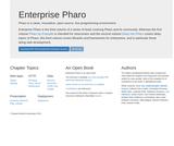 Enterprise Pharo a Web Perspective