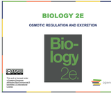 Biology II Course Content, Osmotic Regulation and Excretion, Osmotic Regulation and Excretion Resources