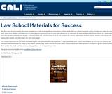 Law School Materials for Success