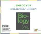 Biology I Course Content, Mendel's Experiments and Heredity, Mendel's Experiments and Heredity Resources