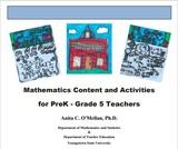 Mathematics Content and Activities for PreK - Grade 5 Teachers
