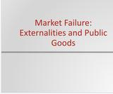 Principles of Microeconomics Course Content, Market Failure: Externalities and Public Goods, Market Failure: Externalities and Public Goods Resources