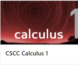 MATH 1151 CSCC Calculus 1