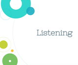 Public Speaking Course Content, Listening, Listening Resources